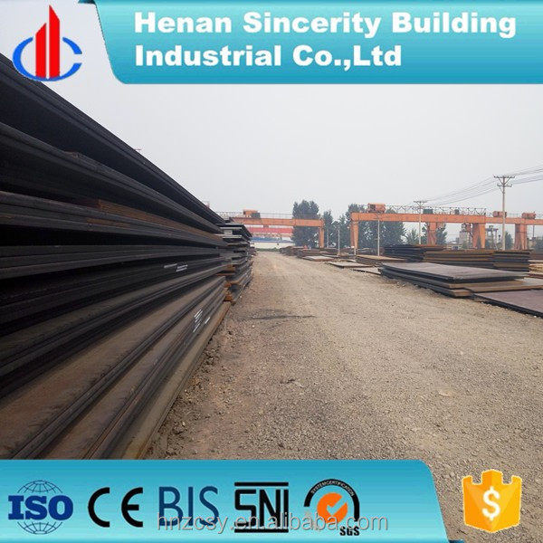 Hot rolled A515Cr65 steam boiler steel plate price per ton