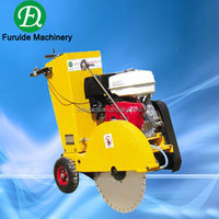 super quality walk behind concrete floor saw with Honda engine (FQG-500)