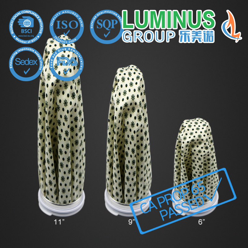 little dot printing ice bag for medical cooling with various sizes