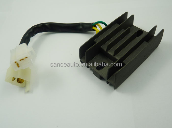 Voltage Regulator Rectifier For 97-04 SUZUKI LS650 Savage Black New