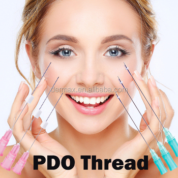 American CE approved PDO 3D Cog Thread L Blunt cannula face lift thread for V lifting