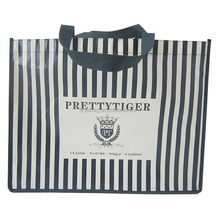 Polyester Nylon Foldable shopping bags with logo printed