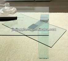 6.38-12.38 mm CE certification laminated glass dining table