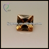 Light Champagne CZ Square Loose Cubic