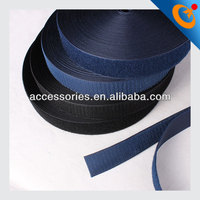 1.5 inch black and colored hook and loop tape