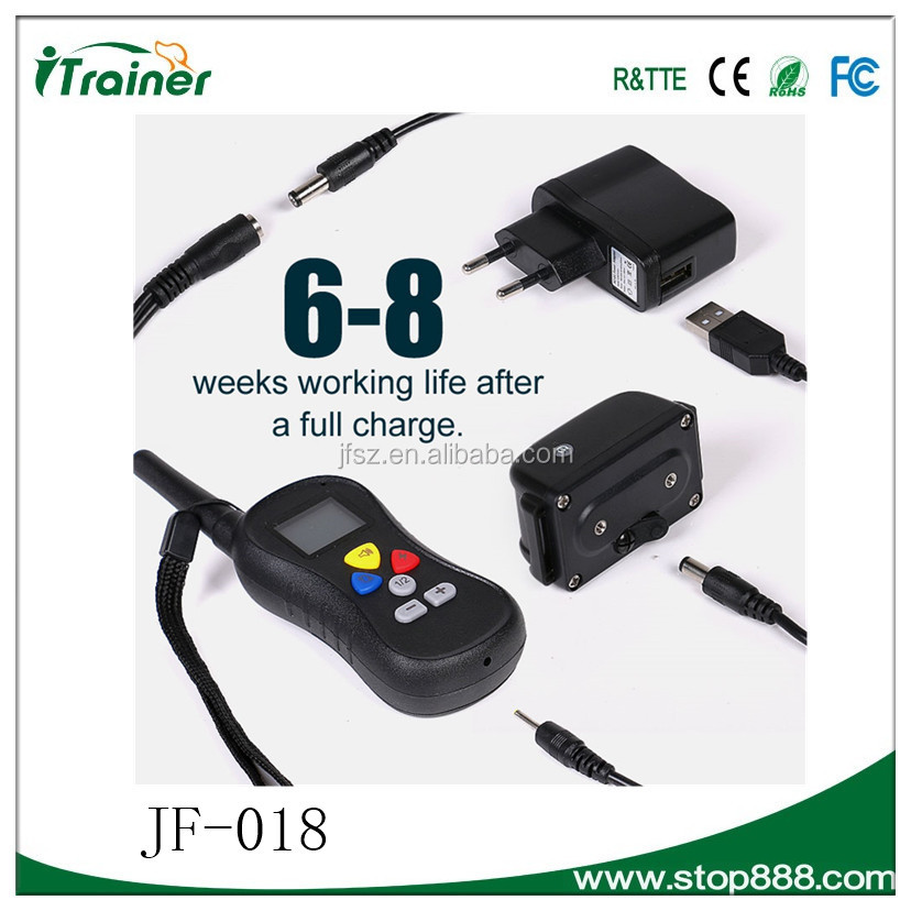 JF-018 2016 e collar train your dog best electronic dog training collars