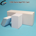 Inkjet Printer Plastic PVC RFID Card 13.56MHZ 1K with Chip