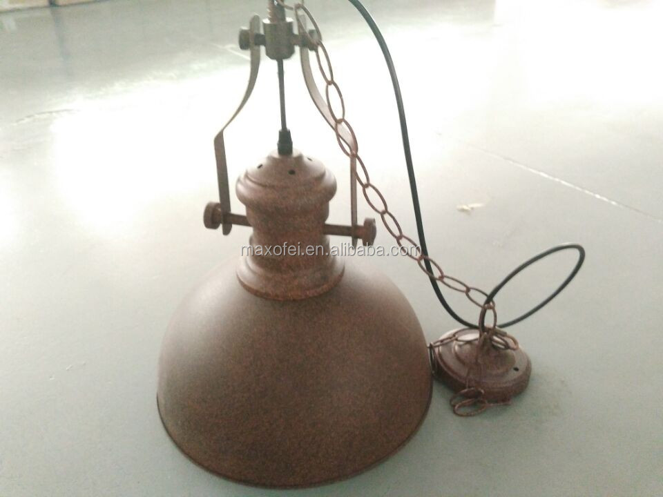 <strong>Industrial</strong> energy saving interior iron hanging kitchen lamps