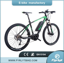 2017 guangzhou pedal motorbike 27.5'' bike 250w bafang e bicycle electric bisiklet