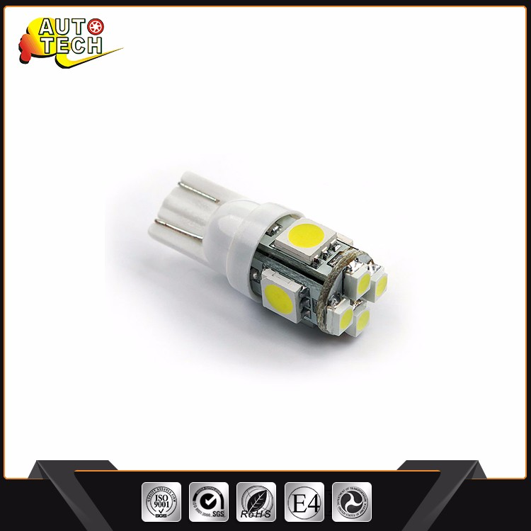 New Design Good Heat Dissipation T10 13 Leds 4000K/T10 5050 5Smd 6 Canbus