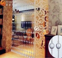 crystal bead curtains for doors,crystal bead string curtain OCX019