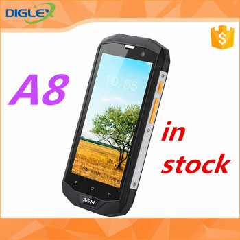 Wholesale AGM A8 original smartphone 64gb black fast shipping hot sale cellphone