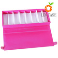 fashion lovely pink case For Eyeglass Sunglass Glasses Storage Organizer Leather box case