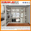 Sliding wardrobe with tv cabinet and study table and safe cabinet,ties tray