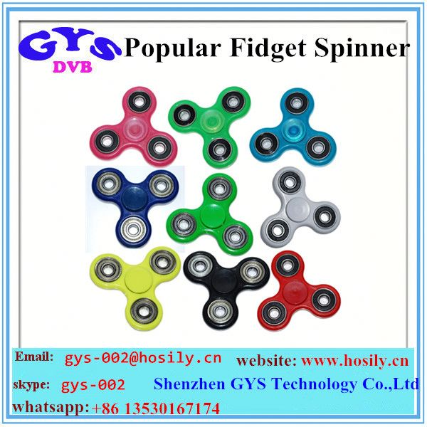 Hot selling anti stress fidget spinner 608 bearing EDC hand spinner