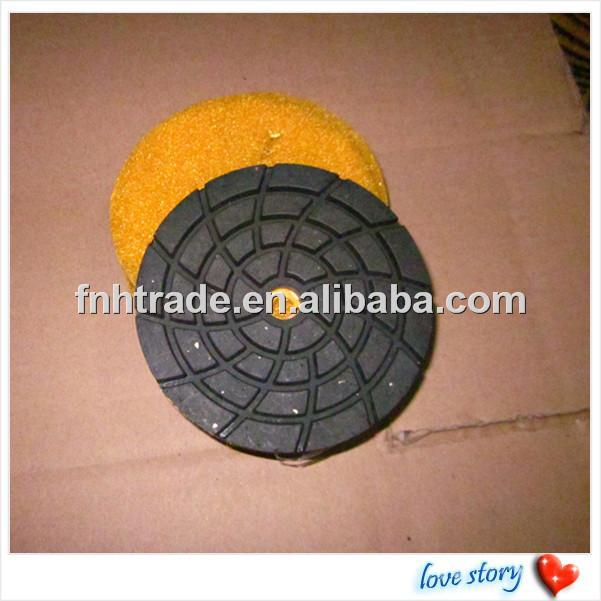 "CR-27 Copper Bond Polishing Pad Diameter 4""/100mm,Thickness 8.0mm Best For Concrete & Terrazzo Grinding & Polishing"