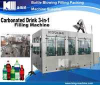 Pop Can Soft Water Filling Machine / Bottling Machinery