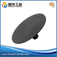 Anti-corrosion ASTM B265 electroplating titanium anode
