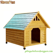 Eco-friendly flat pack wooden cedar dog house