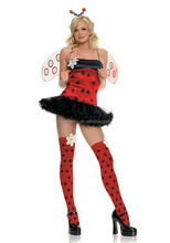 sexy ladybug classical ballet tutu ballet business woman costume women halloween costumes QAWC-8287