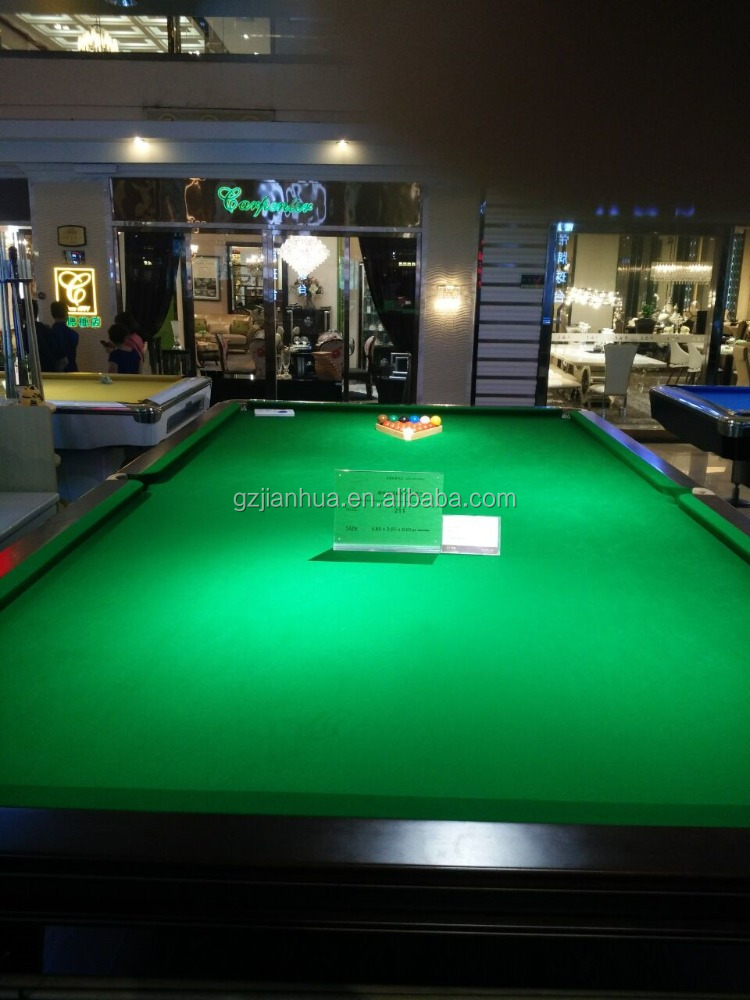 High Quality New Model Fashion Star 12ft Snooker Table Price