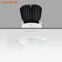 Recessed Adjustable Aluminium 10w 12w 15w