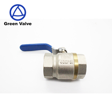 Green-Gutentop Chinese Manufacturer Full Size High Quality Brass Ball Valve For Water
