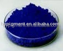 color powder pigment blue used in plastic rubber and concrete