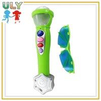 2016 new kids toy microphone kids plastic microphones plastic toy microphone for sale