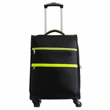 Popular new style nylon tsa lock travel soft luggage