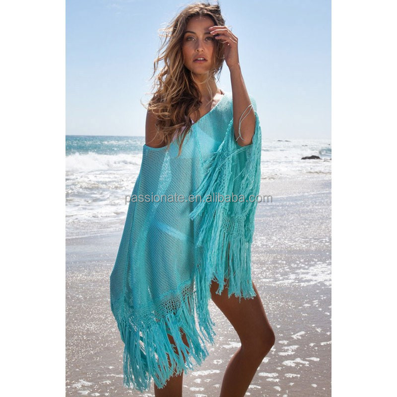 Embroidered long beach dress cover up buy