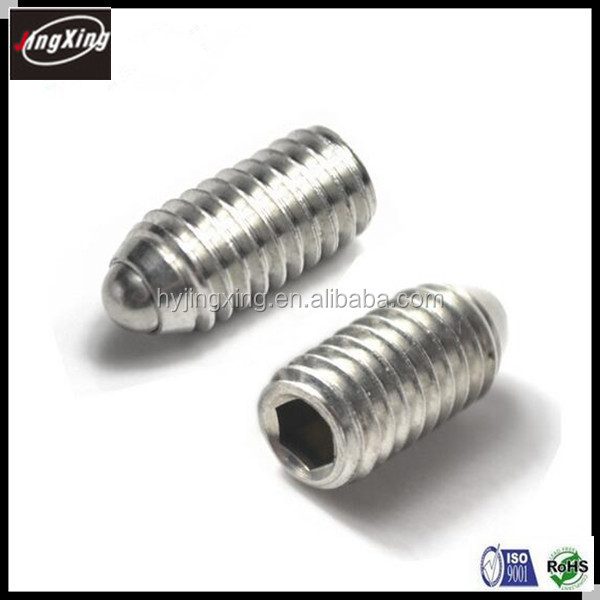 factory price Socket Head Spring ball plunger Set screw