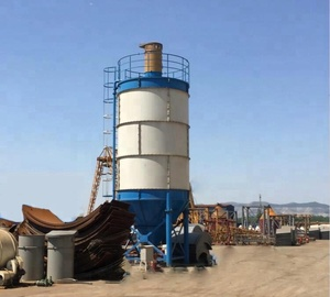Professional factory design 80 ton bolted cement silo for sale