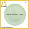 10inches melamine flat plate, jade color melamine plate,dinner plate