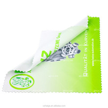 Custom brand print microfiber glasses cleaning cloth