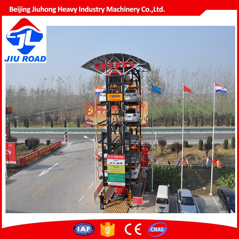 Car parking lift system intellegent Rotary Car Smart parking system