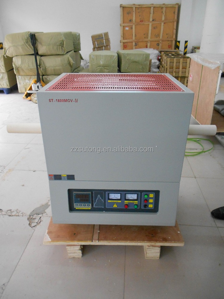 1600C Laboratory Vacuum Tube Atmosphere High Temperature Furnace with Corundum Tube