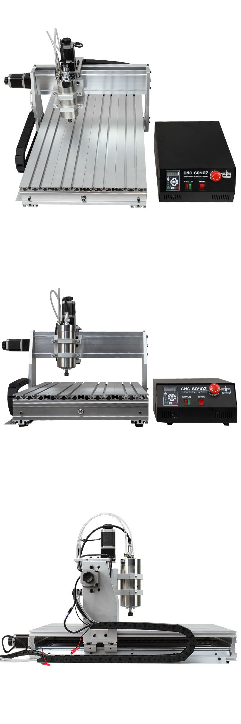 usb CNC 6040 3 Axis router with mach4 controller engraving Milling Machine