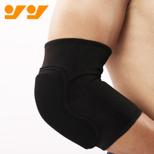 Compression bamboo Basketball elbow support with EVA padding
