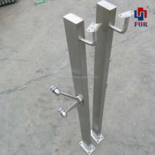 adjustable modern handrail brackets stainless steel