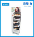 customized cardboard store makeup display cabinet