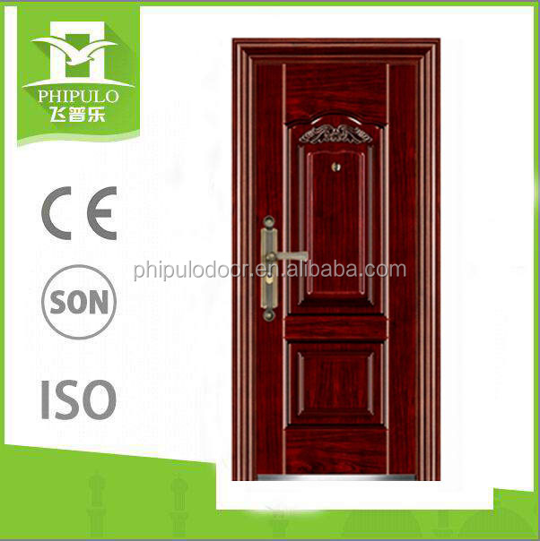 china manufacture decorative safety steel door