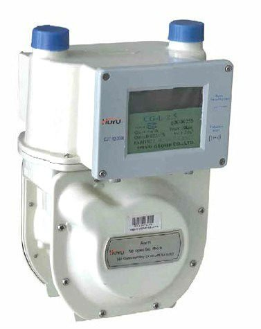 HU-L-2.5radio frequency card diaphragm gas meter