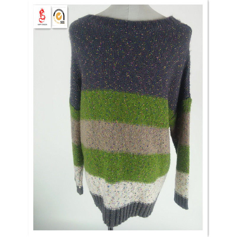 Custom Knitted Sweaters&Wool Sweater Design For Girl