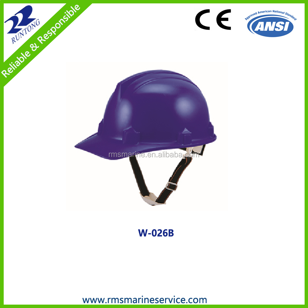 2017 Quality CE ANSI approved industrial safety helmet for construction