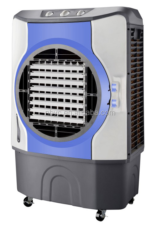 Electric water air cooler /water consumption 4-5L/Power 200W/Airflow:6000CBM/H