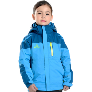 2018 Newest design good popular waterproof 3 in 1 cute winter jackets for kids