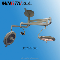 LED surgical theatre light with video camera