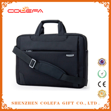 newest leather neoprene trolley nylon laptop bag
