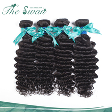 Swan new arrival personalized natural 9a grade high quality beauty curly human indian hair